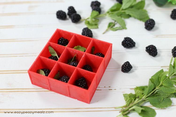 Blackberry Mint Spritzer - Eazy Peazy Mealz
