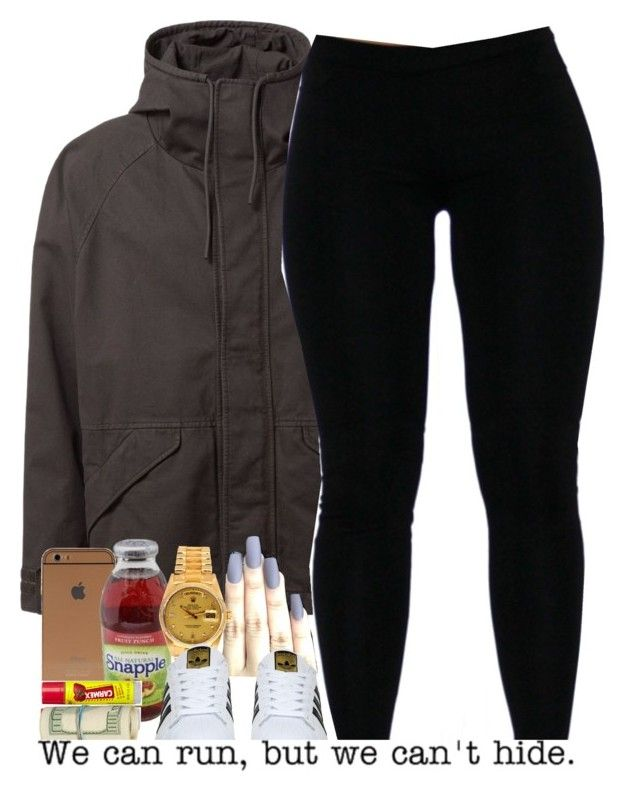 """Sex with me so amazing "" by beautiful-sinnerr ❤ liked on Polyvore featuring adidas Originals, Rolex, adidas, Carmex, DOPE and trill"