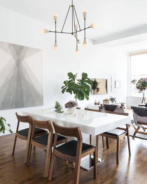 70 Modern Dining Room Ideas For 2019: Modern Dining Room Design Ideas