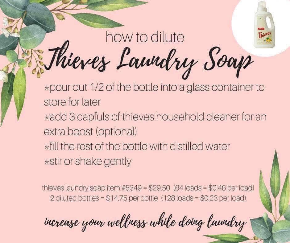Laundry Soap Essential Oil Blends Recipes Essential Oils For