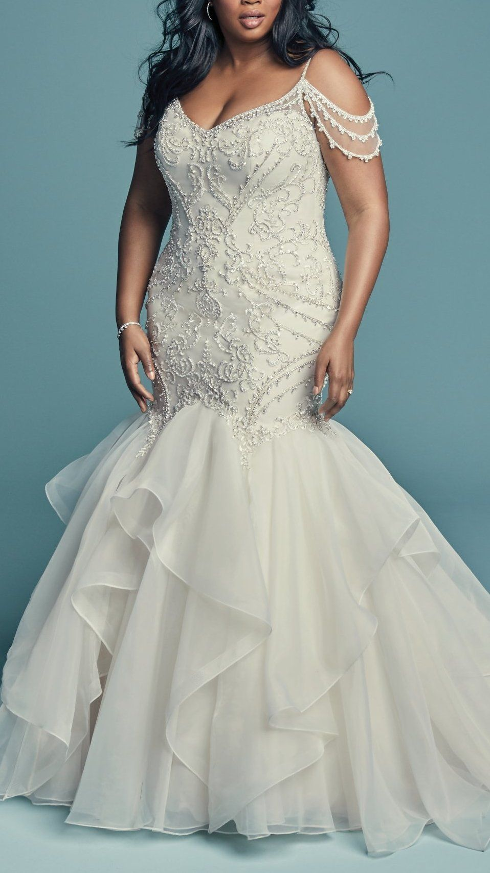 Brinkley Lynette By Maggie Sottero Wedding Dresses And Accessories Wedding Dresses Mermaid Dresses Plus Size Wedding Gowns [ 1707 x 958 Pixel ]