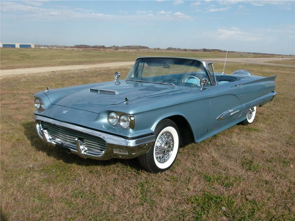 1959 FORD THUNDERBIRD CONVERTIBLE – Barrett-Jackson Auction Company – World's Greatest Collector Car Auctions