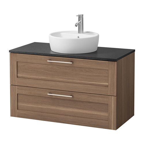 Us Furniture And Home Furnishings With Images Bathroom Vanity Ikea Bathroom Bathroom Vanity Countertops