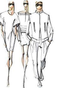 Instructive Flats For Fashion Designers Google Search Moda Cizimler