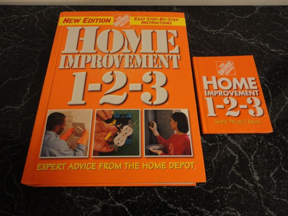 Home depot project books