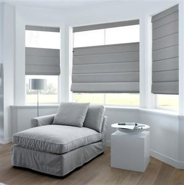 Roman Blinds On Half Height Window Living Room Blinds Blinds For Windows Curtains With Blinds