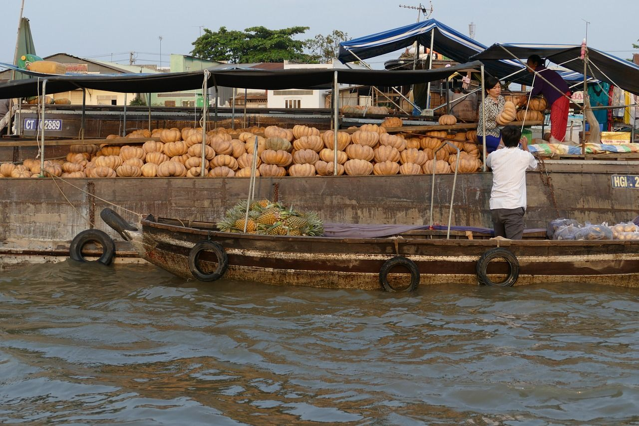 Boat vietnam mekong river mekong delta boat vietnam