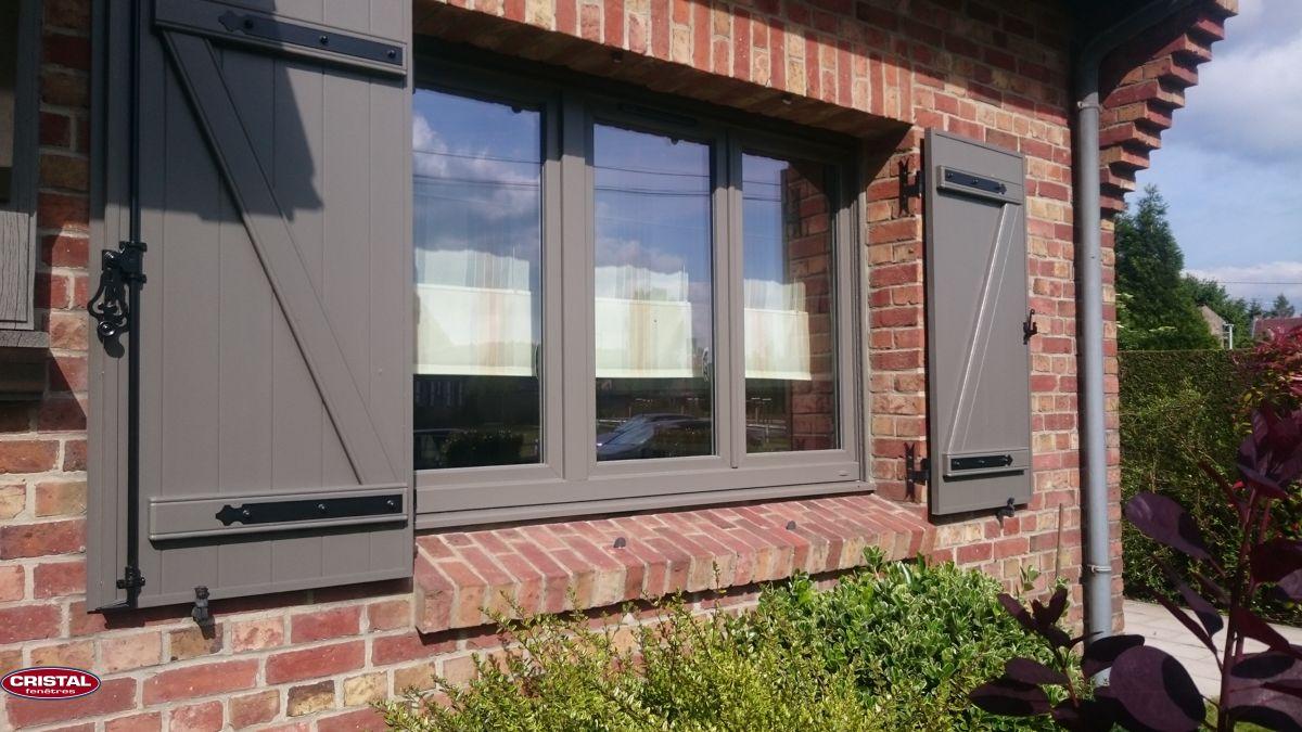 Peindre Fenetre Pvc En Gris pvc gris basalte | fenêtre pvc