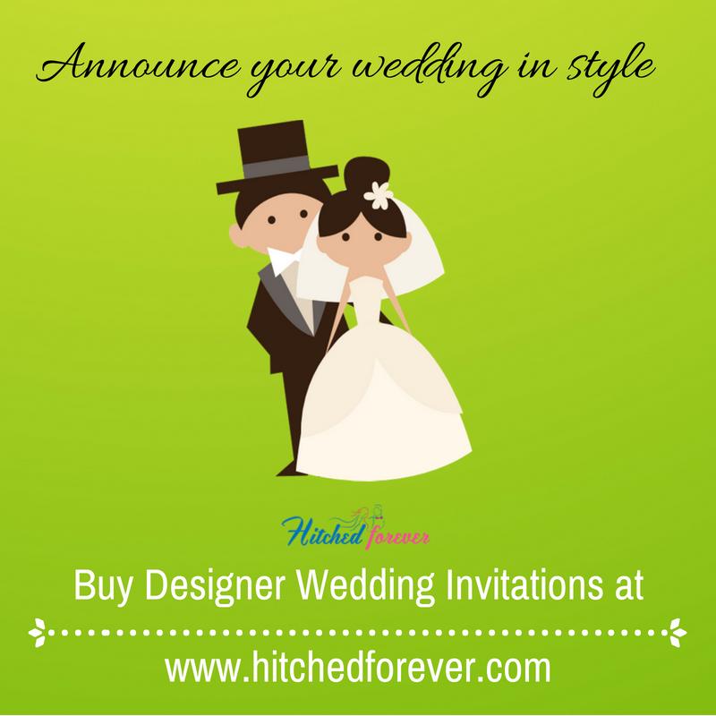 Buy Wedding Invitation Cards Online: Buy Wedding Invitations Online. Designer Indian Wedding