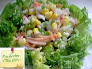 A Neptune Salad Is A Combination Of Both Crunchy And Soft