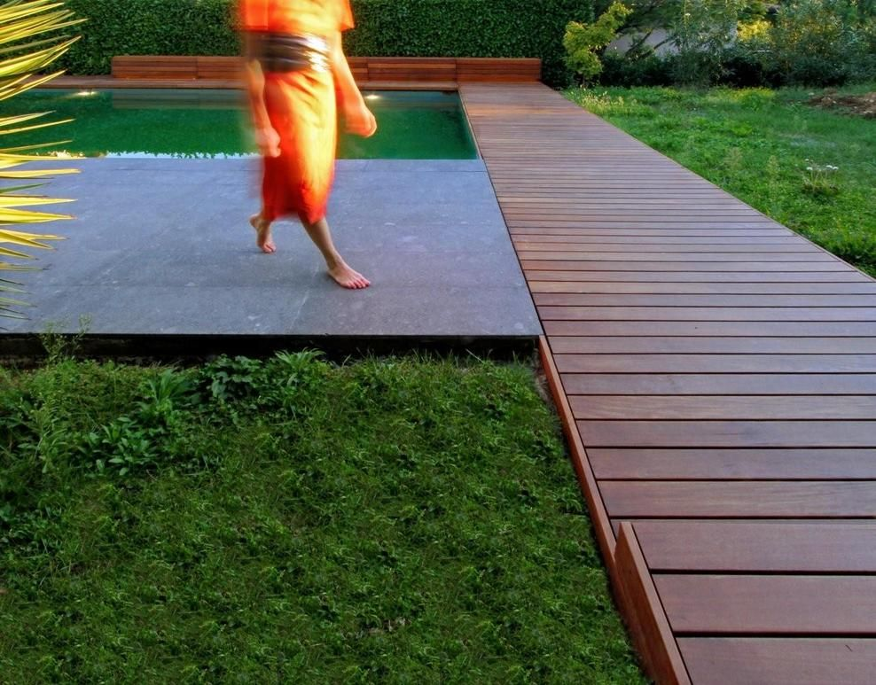 Boardwalk ipe outdoor pinterest landscaping for Surface design landscape