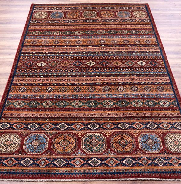 Aryana 3417 Rug A Stunning Jewel Hued 100 Wool Hand Knotted Rug Handmade In Afghanistan Http Www Therugswarehouse Co Uk Traditiona Gabbeh Rug Rugs Gabbeh