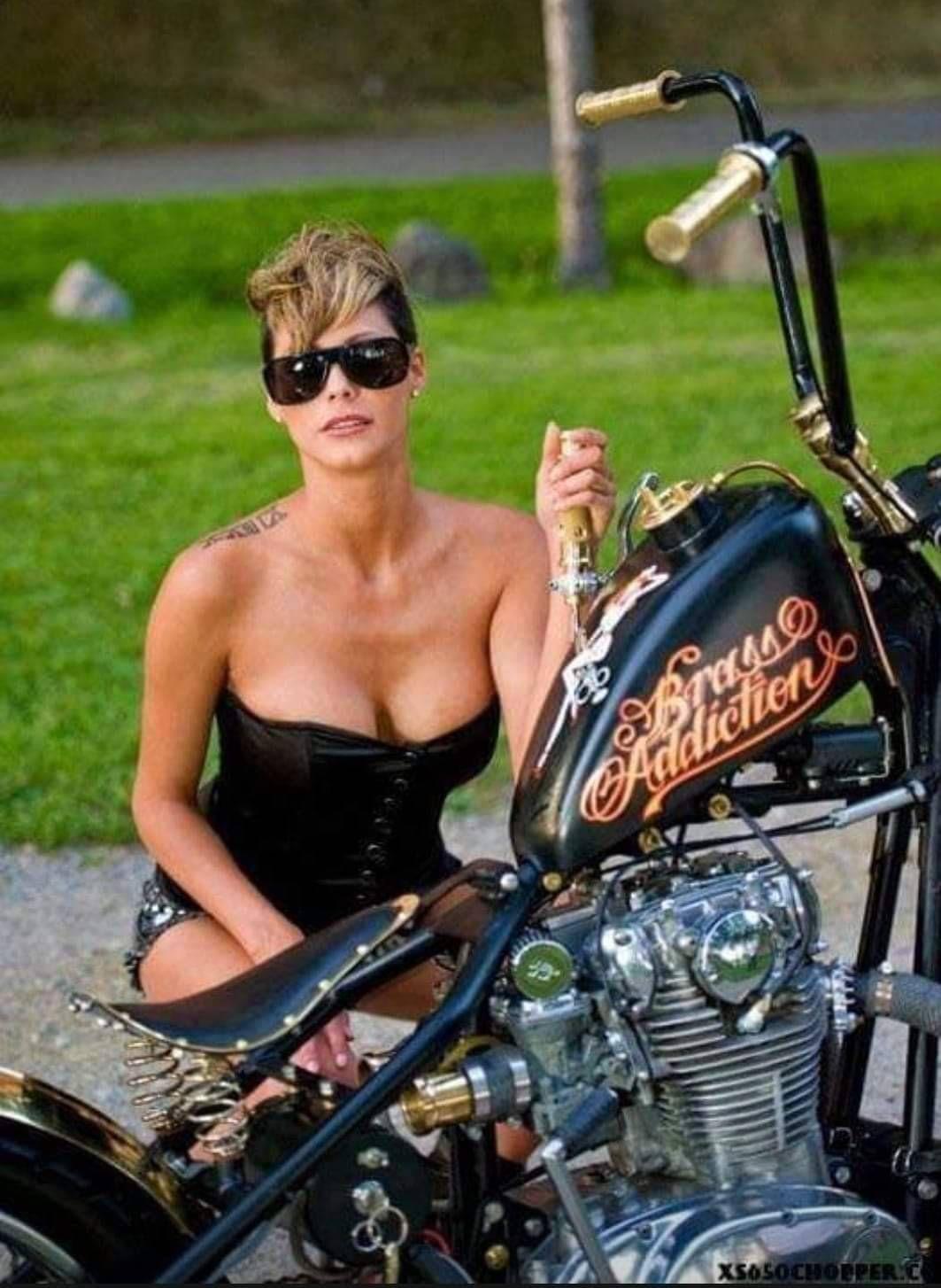 naked-biker - Bine und Axel