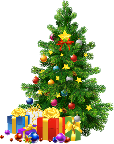 Large Transparent Png Christmas Tree With Gifts Christmas Tree With Gifts Christmas Tree With Presents Christmas Tree Decorations