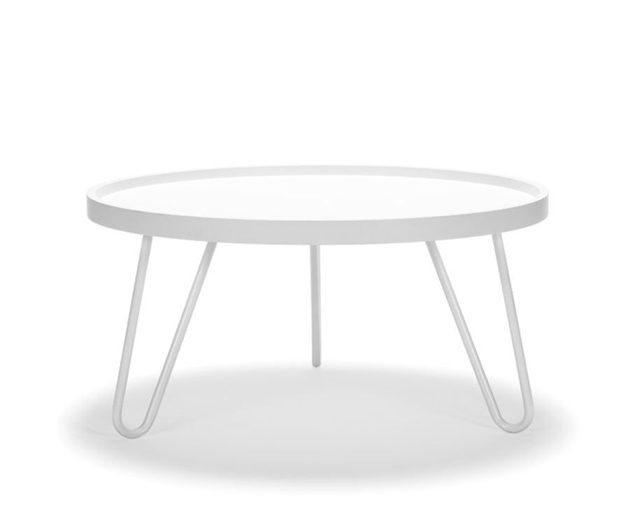 Couchtisch Scandi Design Zero Low Coffeetable In White (bolia) | Coffee Table ...