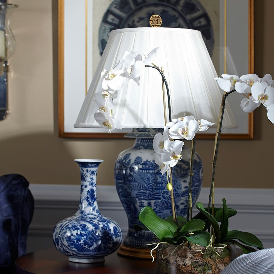Classic ginger jar table lamp ethan allen us blue and white classic ginger jar table lamp ethan allen us geotapseo Gallery