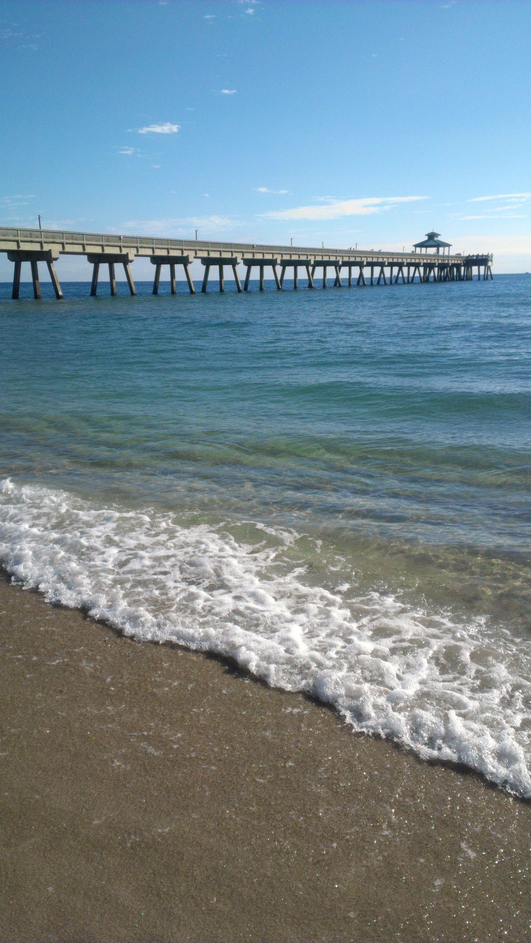 Deerfield Beach Pier Longest Fishing