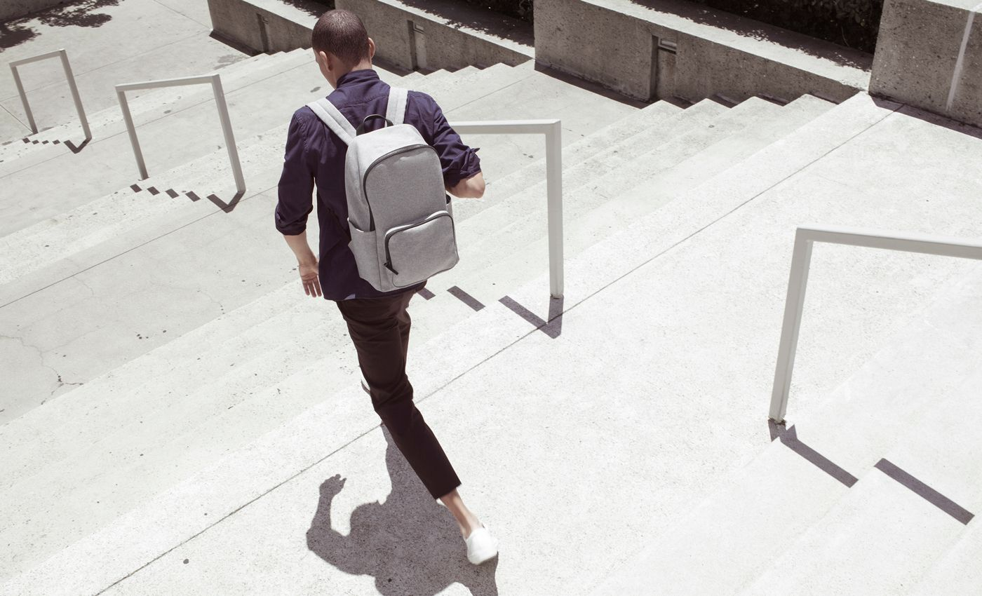 Large The Modern Zip Backpack