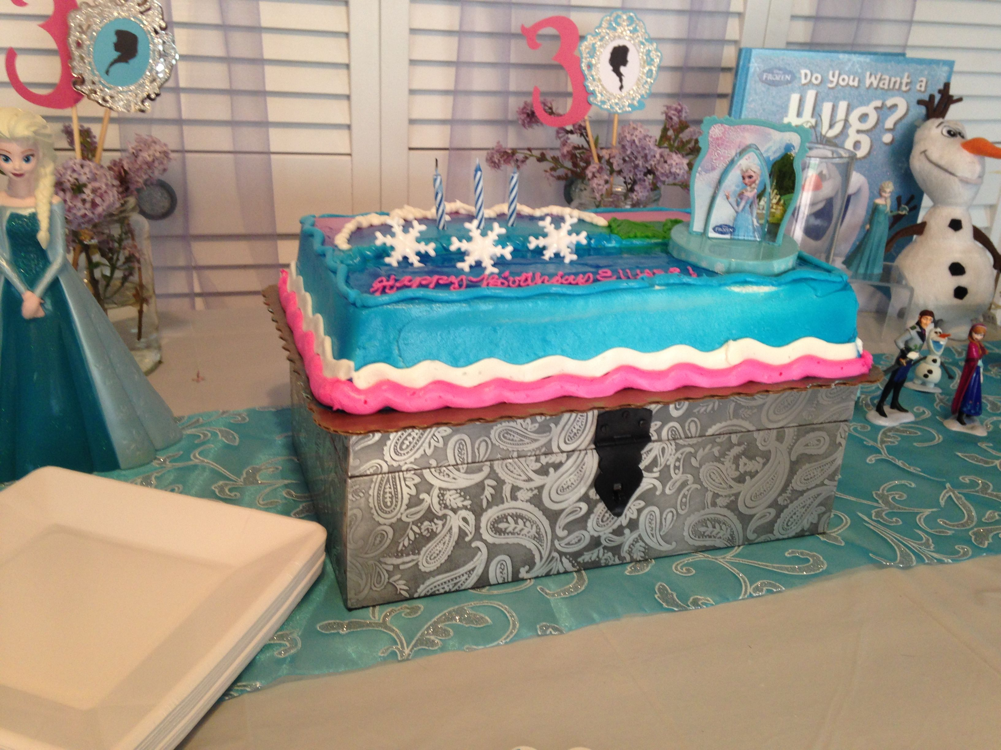 Frozen birthday cake by King Soopers Big Dreams Frozen Birthday