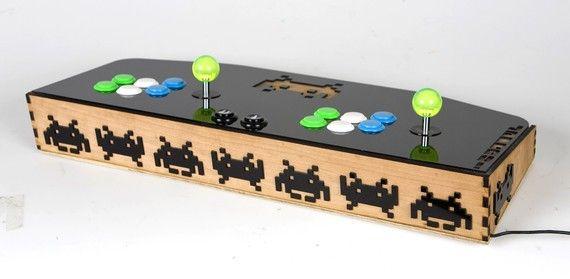 Custom Mame Arcade Controller Sanwa Buttons And Joysticks