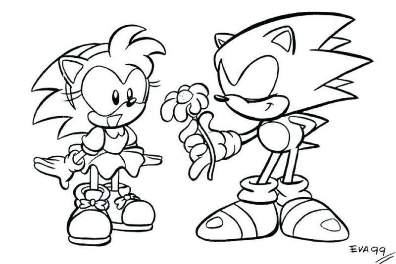 Sonic The Hedgehog Coloring Pages (PDF Download) - Free Coloring Sheets Coloring  Pages, Hedgehog Colors, Free Coloring Sheets