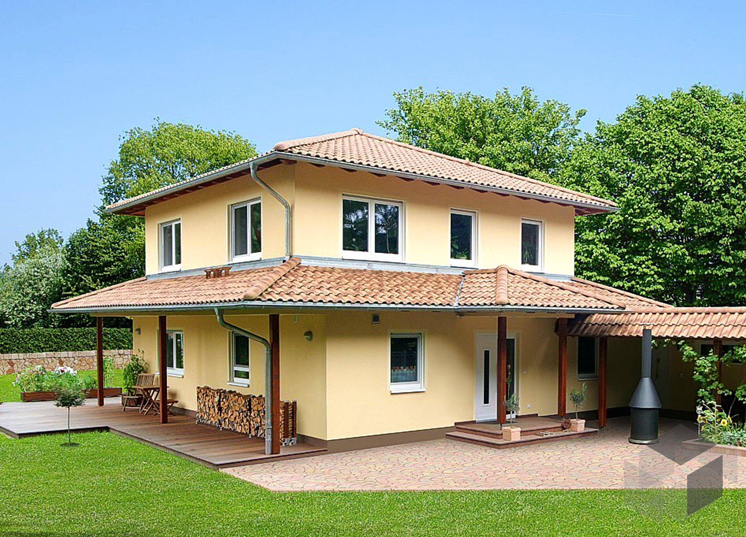 Mediterana von STREIF Haus Wohnfläche gesamt 195 m²