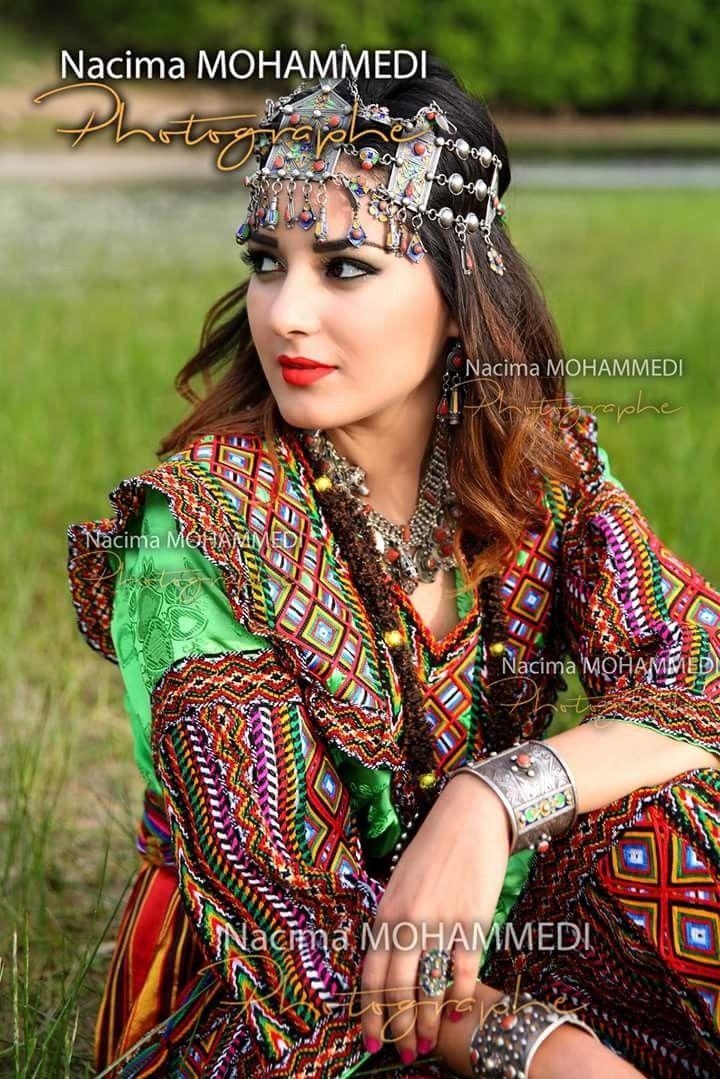 Robe kabyle berbère en 2019 Robe kabyle mariage, Robe