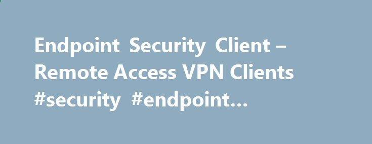 Remote access vpn e80