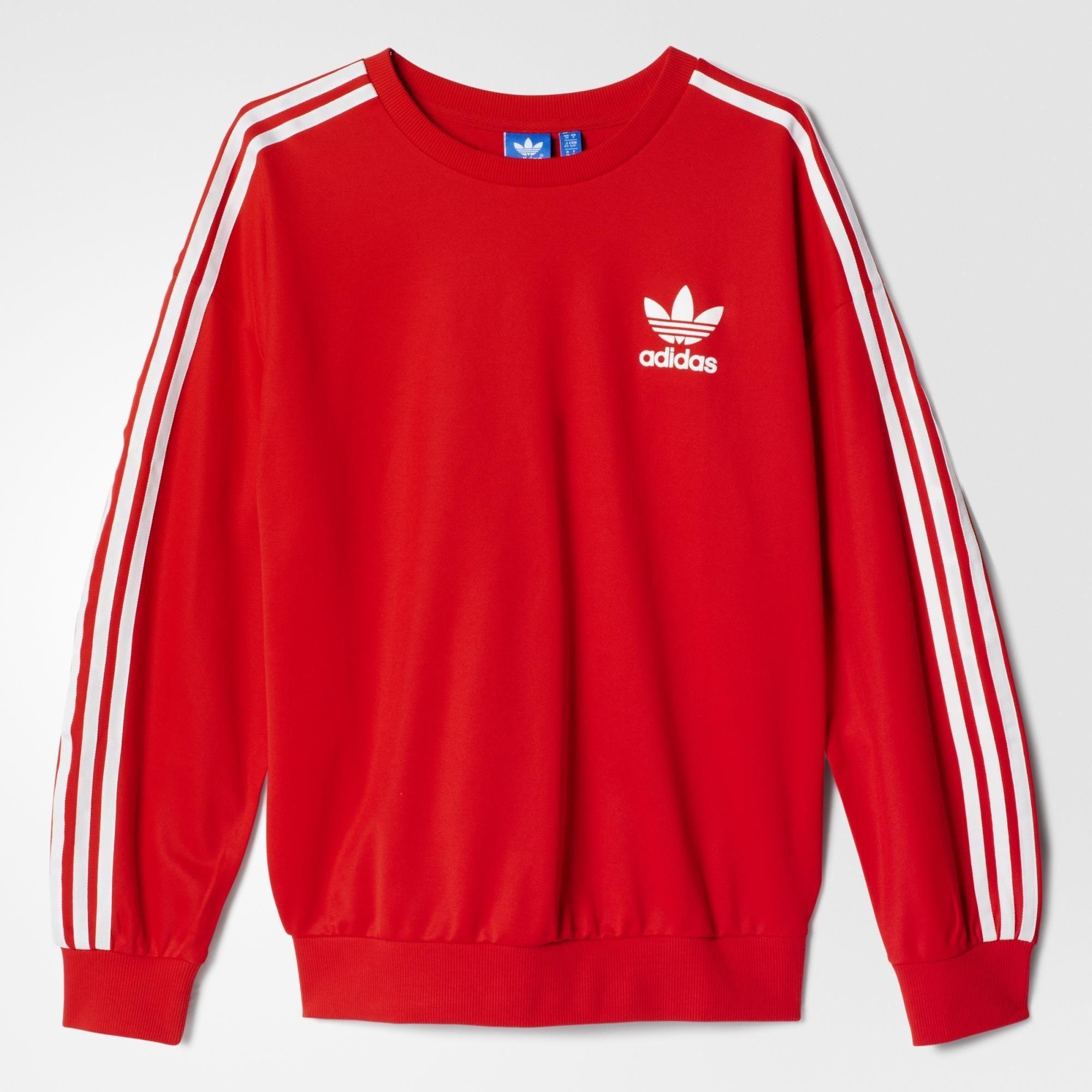 NEED THIS!! adidas Beckenbauer sweatshirt - Tomato ...
