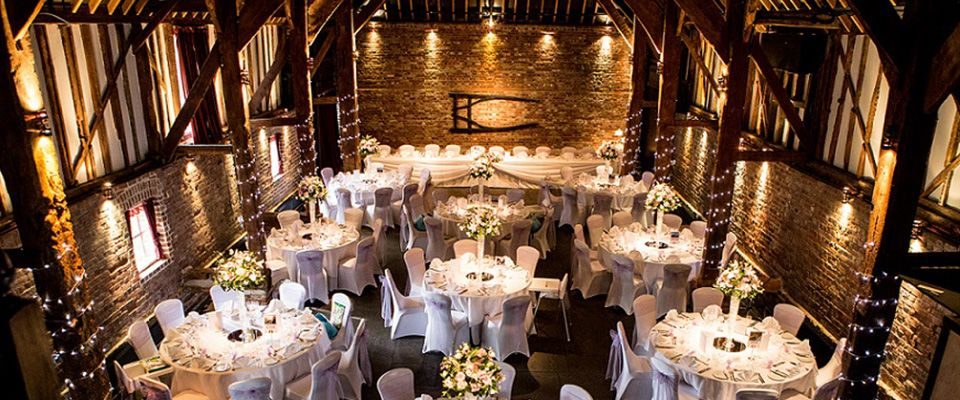 Cooling Castle Barn Is A Magically Rustic Wedding Venue In Kent Surrounded By Picturesque Views With 15 Luxury Bedrooms For You And Your Guests