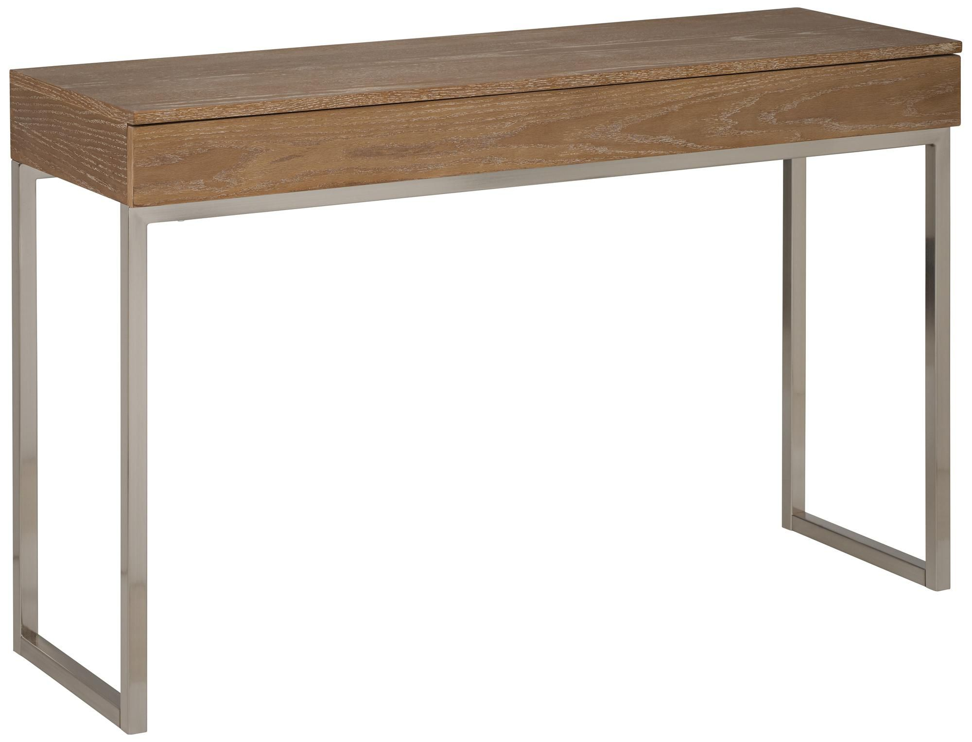 For sunroom office frameo driftwood console table for the frameo driftwood console table geotapseo Images