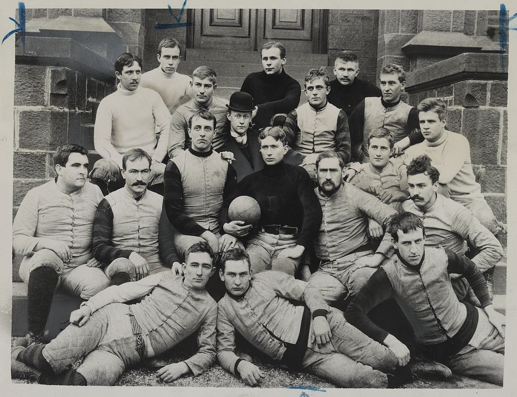 Rutgers Football Team 1891 Image Library Of Congress College Football Teams College Football Games Team Photos