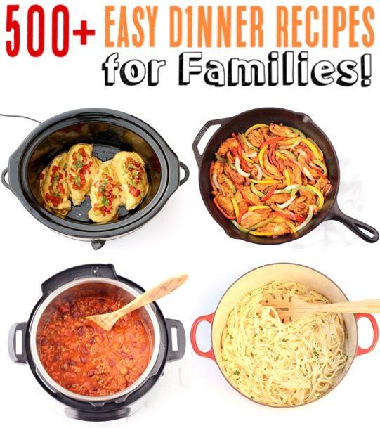 Inexpensive Dinner Ideas: Easy Dinner Recipes For Families