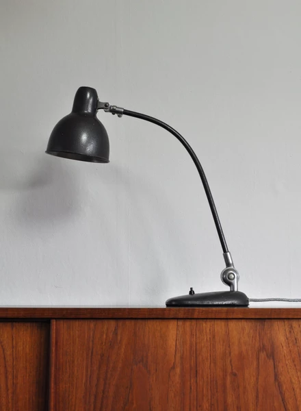Industrial Danish Bauhaus Desk Lamp 1930 40s Desk Lamp