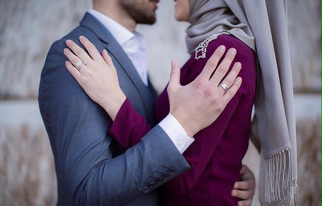 Cute Muslim couple
