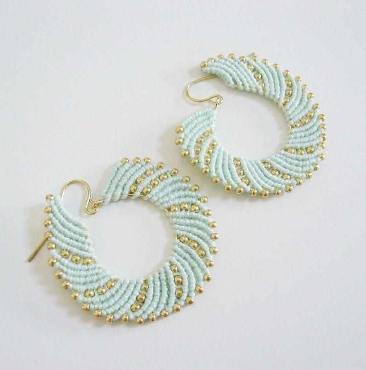 Jewelry Patterns, Beaded Earrings