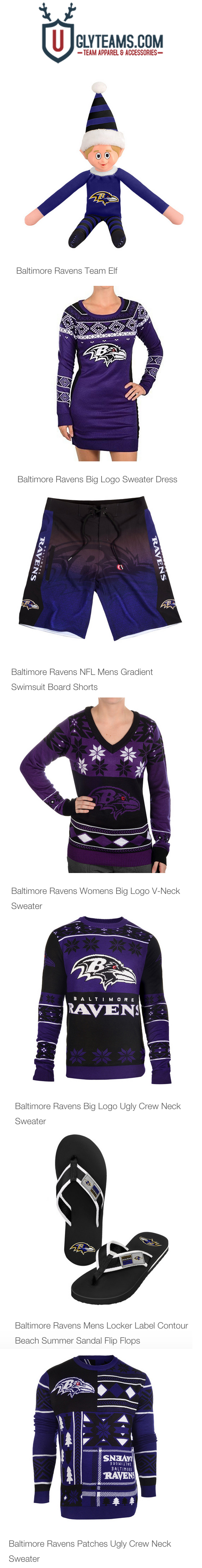 Baltimore Ravens Ultimate Fan Gift Guide from Uglyteams.com | NFL ...