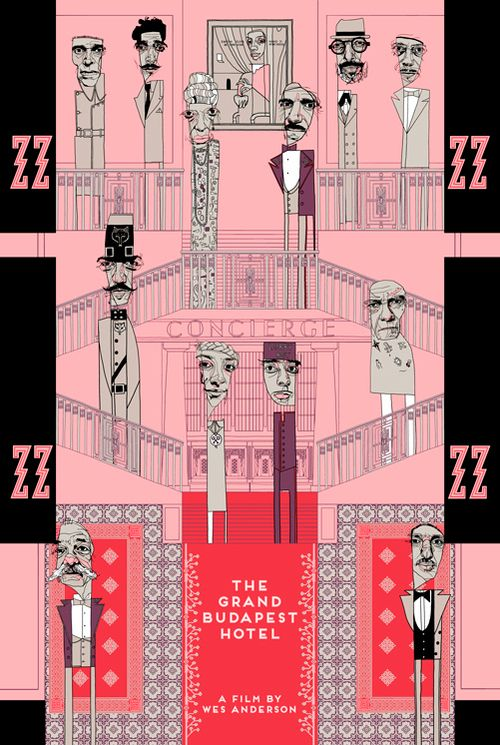 The Grand Budapest Hotel by Conor Langton.