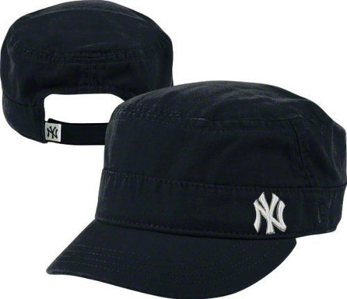 innovative design e0694 50148 New York Yankees Women s New Era Military Cadet Hat by New Era.  24.99.  Officially licensed. Six panel construction with eyelets. Quality graphics.