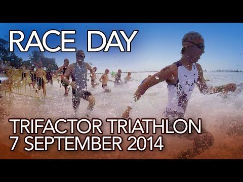 Race Day: TriFactor Triathlon 2014 - YouTube