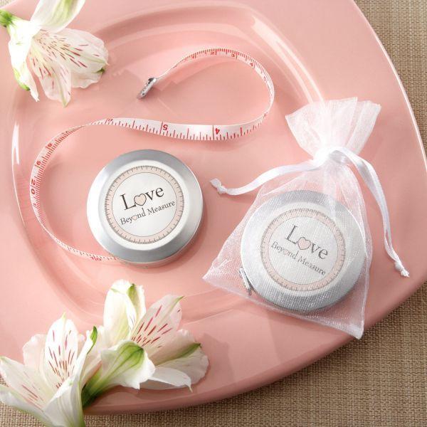 Party Favours Weddings: Love Beyond Measure Measuring Tape Wedding Favor