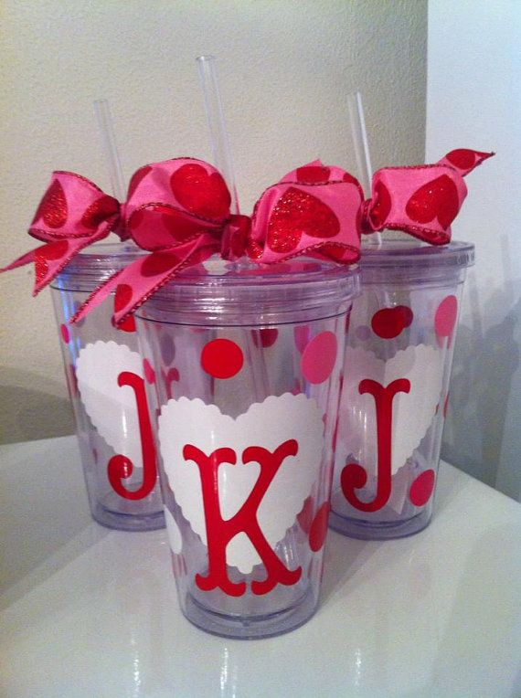 Valentines Tumblers/ Personalized/ Teacher by ...