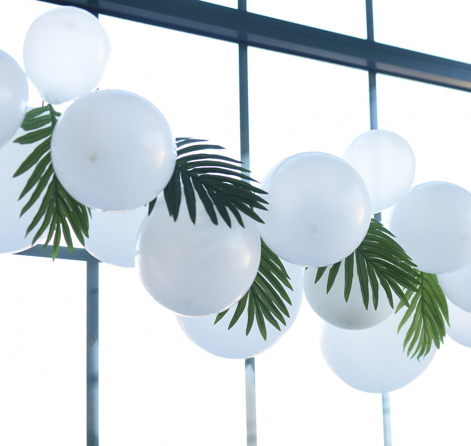 Tropical Party Decorations   Palm House Party   Celebrated
