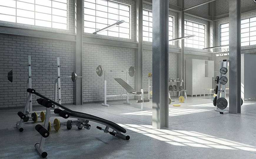 Gorgeous Evermotion Home Gym Former Warehouse http://www.ghoofie ...