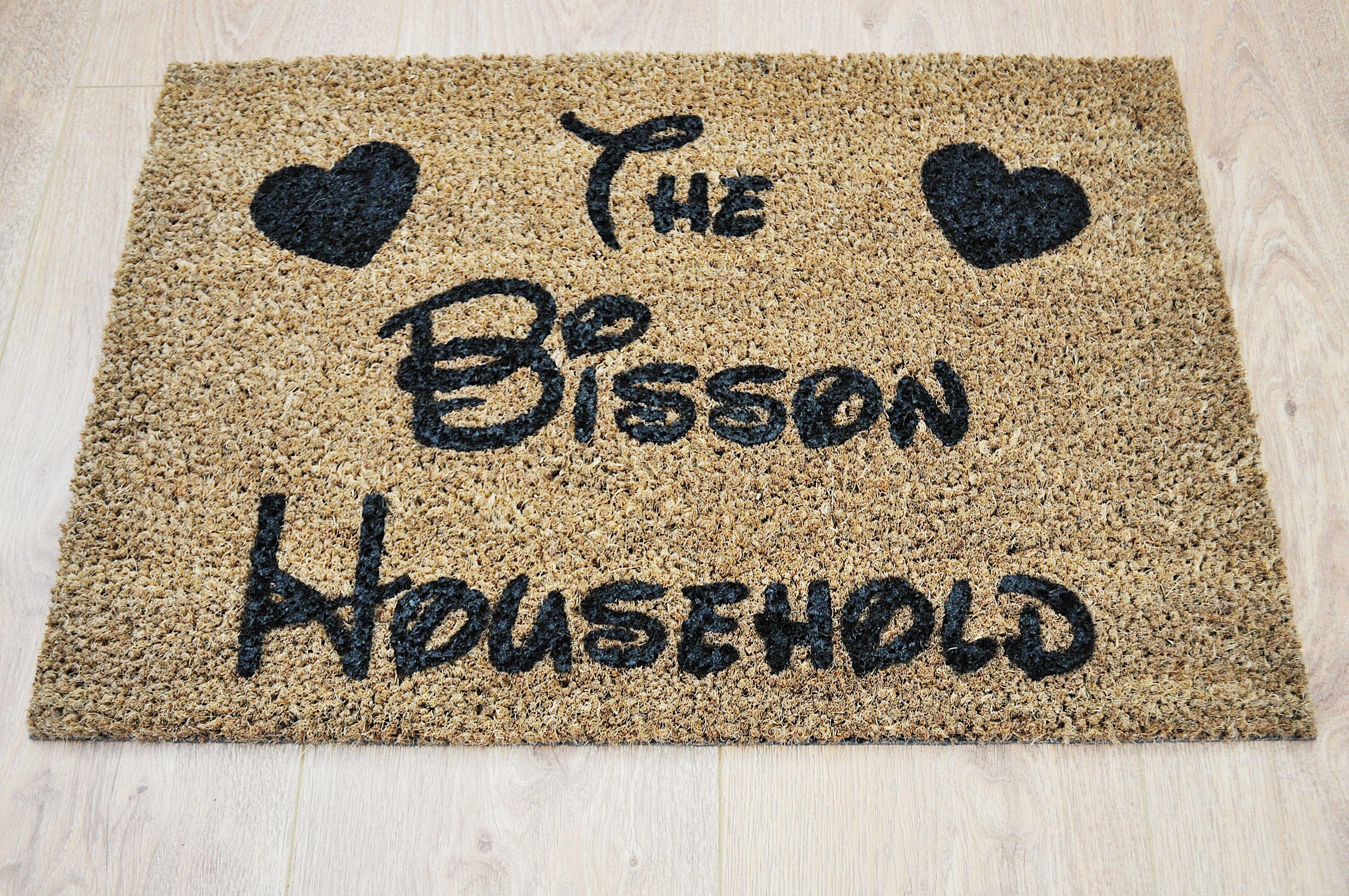 Door mat & Pin by Hand Painted Doormat on My doormats | Pinterest | Door mat