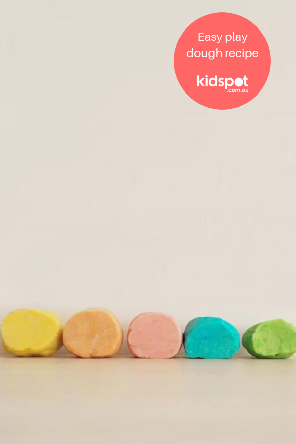 How to make your own play dough Easy playdough recipe