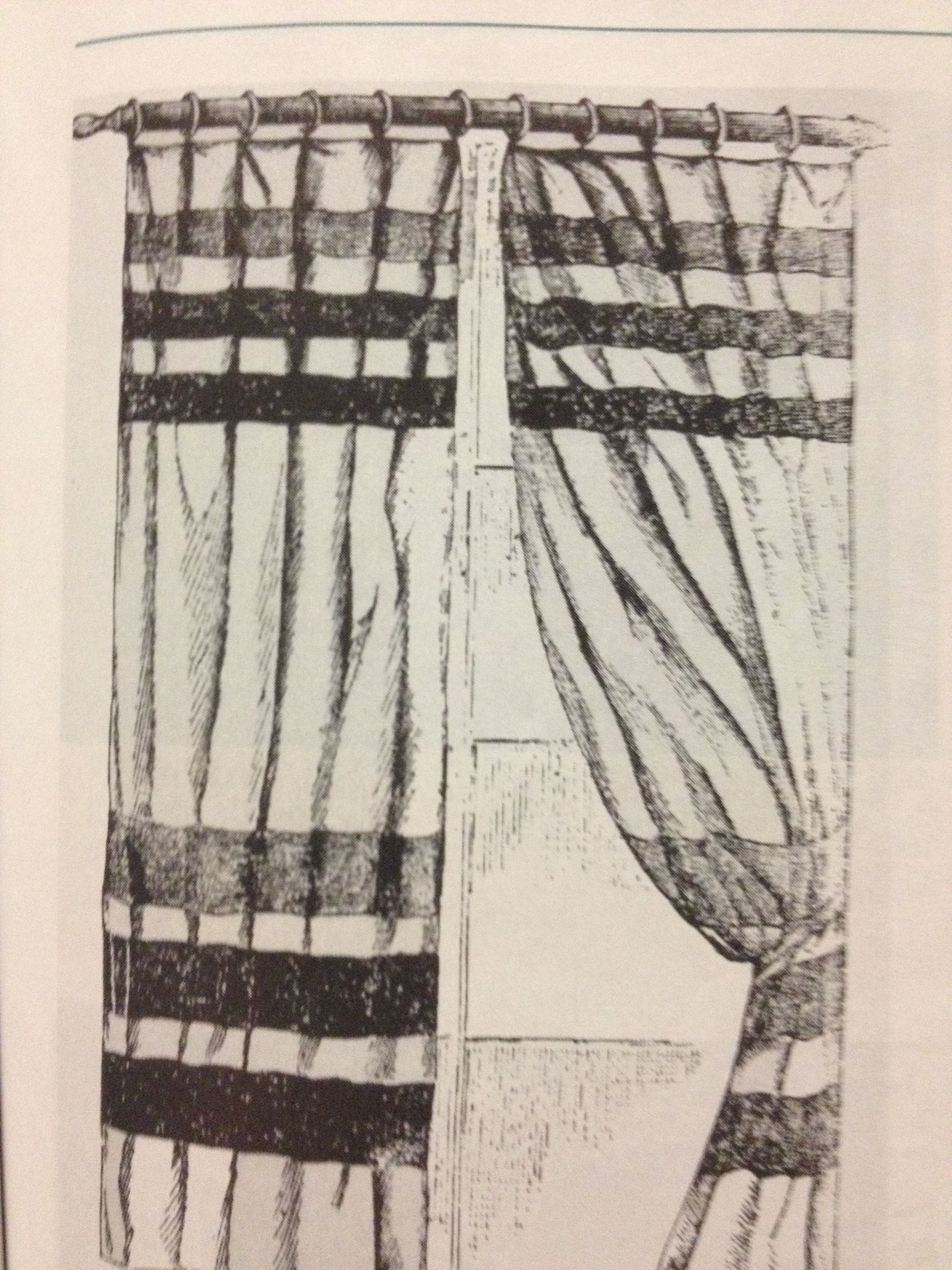 Aesthetic movement curtain sketch. (chapter 16)