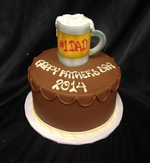 Beer Mug Cake Lake House Cake Golf