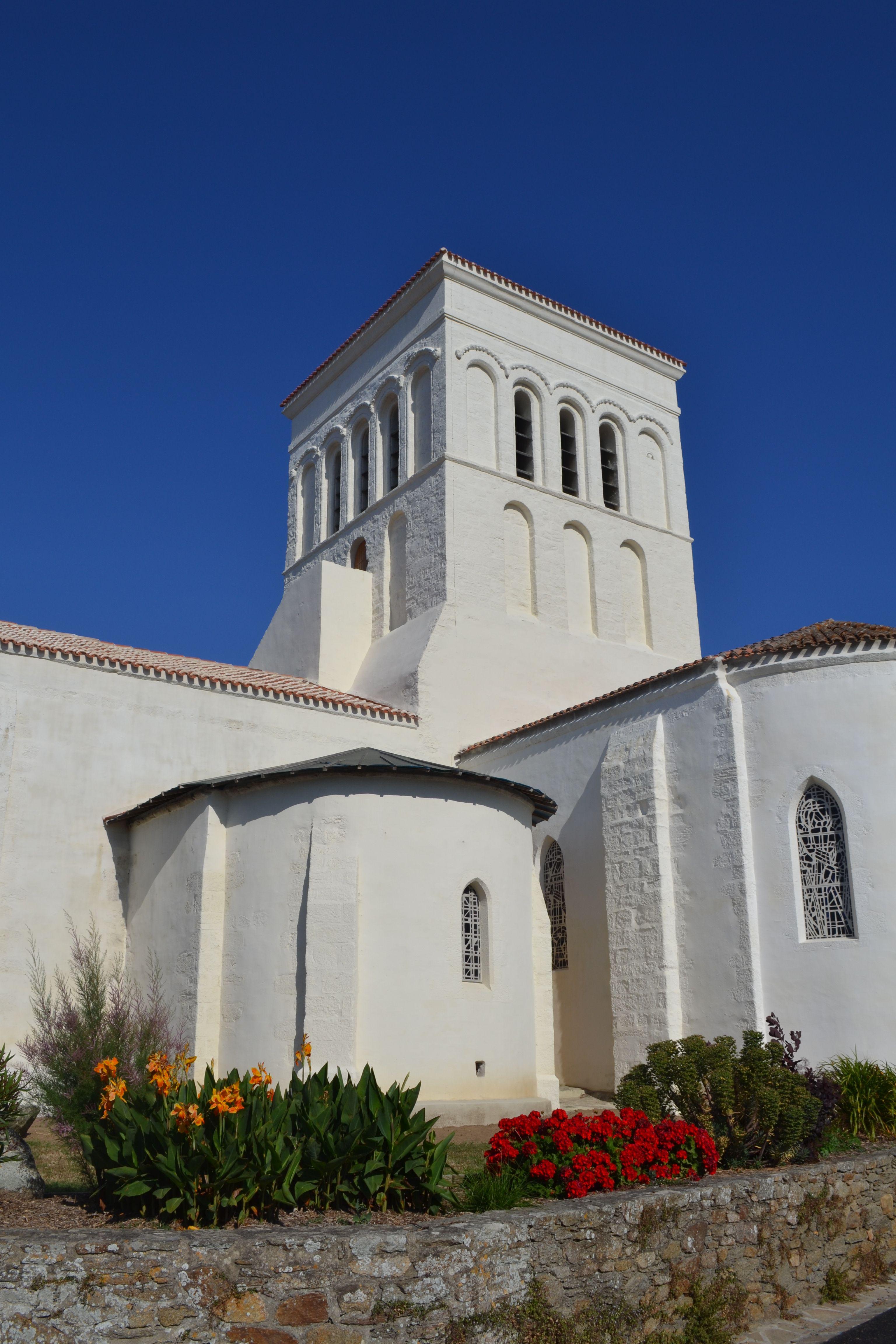 Eglise Notre Dame du Port Port Joinville Ile d Yeu Vendée
