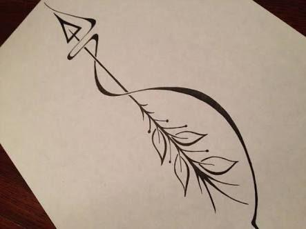 image result for gemini arrow tattoo tattoos pinterest. Black Bedroom Furniture Sets. Home Design Ideas